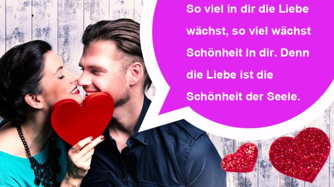 Die romantischsten WhatsApp-Sprüche zum Valentinstag ©drubig-photo - Fotolia.com, Augustinus