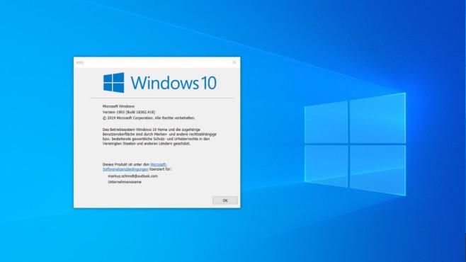 Alternative: Windows 10 (Umstieg per Upgrade Assistent) ©COMPUTER BILD