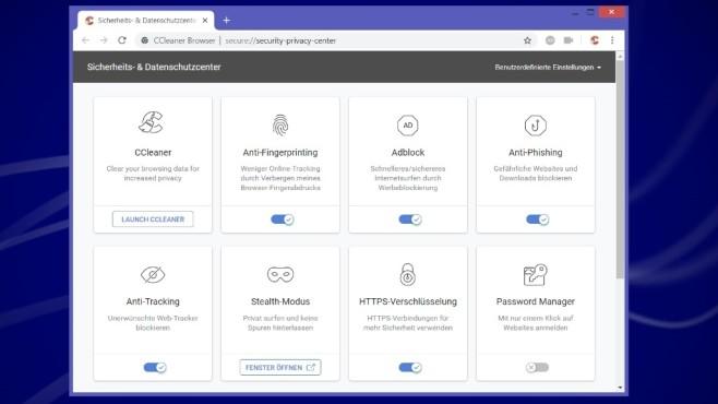 Alternativen: Firefox, CCleaner Browser, Microsoft Edge ©COMPUTER BILD
