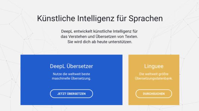 Alternativen: Google und Microsoft Übersetzer, DeepL ©COMPUTER BILD
