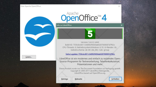 Alternativen: LibreOffice, OpenOffice Thunderbird © COMPUTER BILD