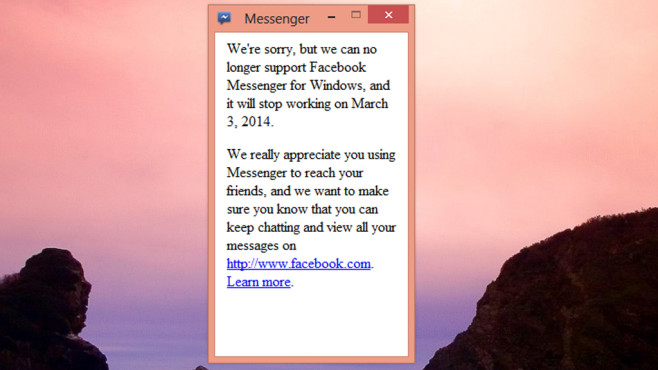Facebook Messenger: Chatten mit Freunden ©COMPUTER BILD