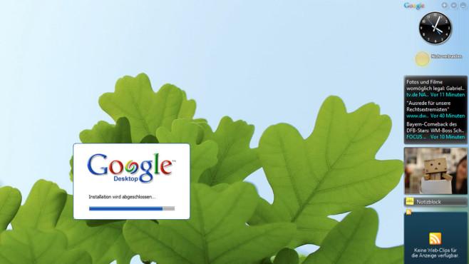 Google Desktop: Verloren gegangene Dateien suchen ©COMPUTER BILD