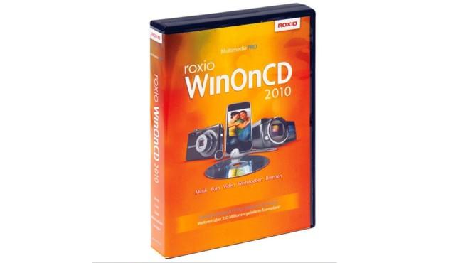 Roxio WinOnCD: Brennpaket ©COMPUTER BILD