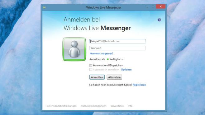 Windows Live Messenger: Mit Freunden chatten ©COMPUTER BILD