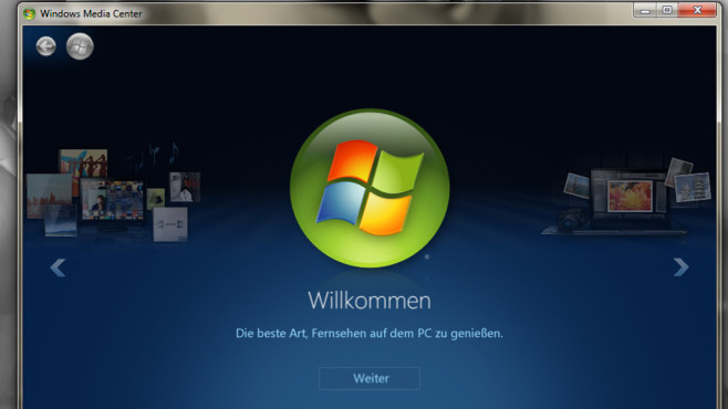 Windows Media Center: Entfernte Multimediazentrale © COMPUTER BILD
