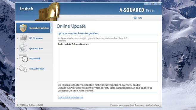 a-squared Free: PC von Schadprogrammen befreien ©COMPUTER BILD