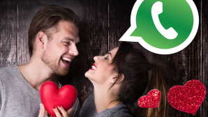 WhatApp-Spruch zum Valentinstag © drubig-photo - Fotolia.com, WhatsApp