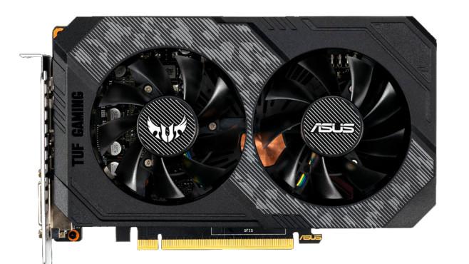 Asus TUF-GTX1660-O6G-GAMING (6GB) ©Asus