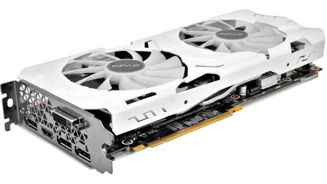 KFA² GeForce GTX 1070 Ti EX-SNPR WHITE 8GB GDDR5 ©KFA²