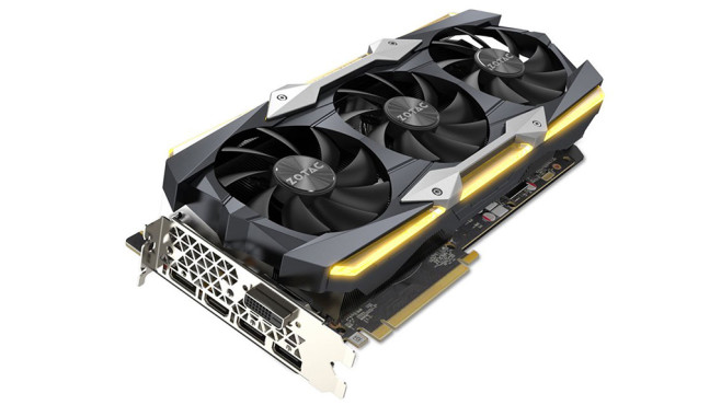 Zotac GeForce GTX 1080 Ti AMP Extreme Core Edition 11GB GDDR5X © Zotac