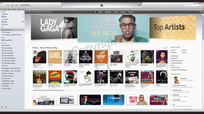 iTunes Store © Apple