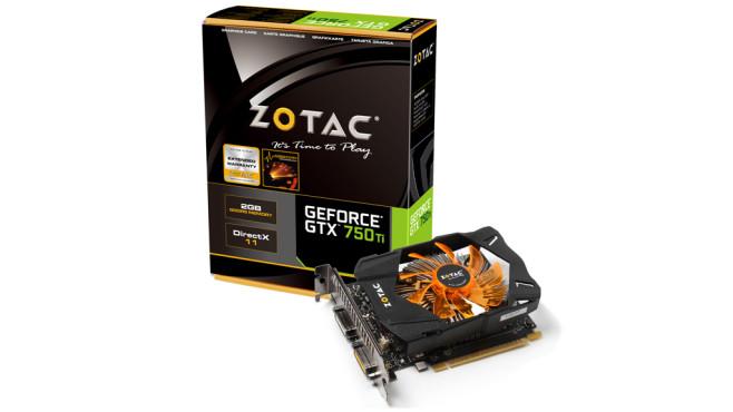 Zotac Geforce GTX 750 Ti©Zotac