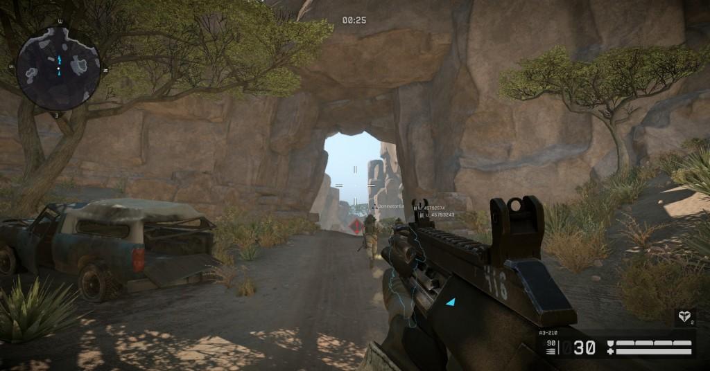 Screenshot 1 - Warface