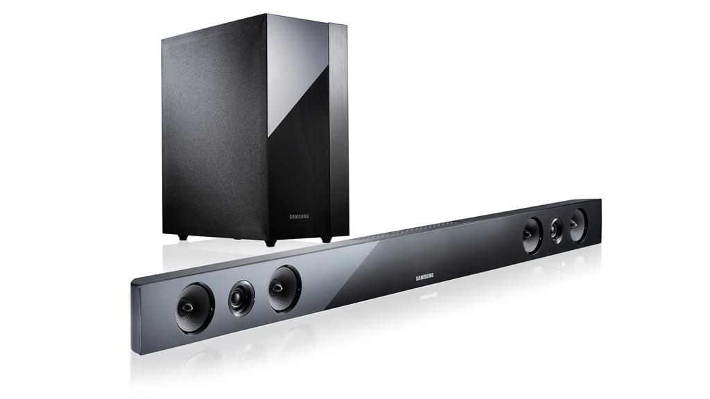 samsung hw f450 test des 2 1 tv soundsystems audio. Black Bedroom Furniture Sets. Home Design Ideas