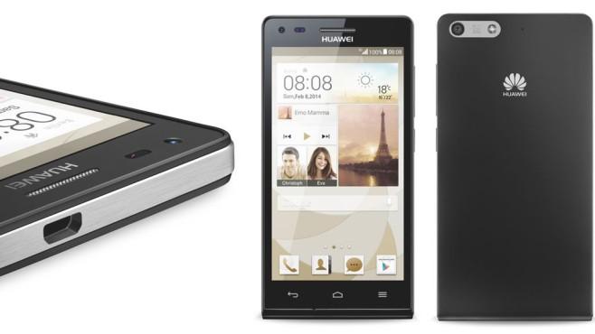 Smartphone Huawei Ascend P7 Mini©Huawei