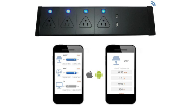 Smart Power Strip © kickstarter