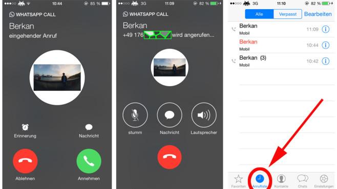 WhatsApp Call: Anruffunktion im Praxis-Test COMPUTER BILD konnte WhatsApp Call bereits auf dem iPhone 6 testen. Ob die Anruffunktion überzeugte, erfahren Sie hier!©COMPUTER BILD