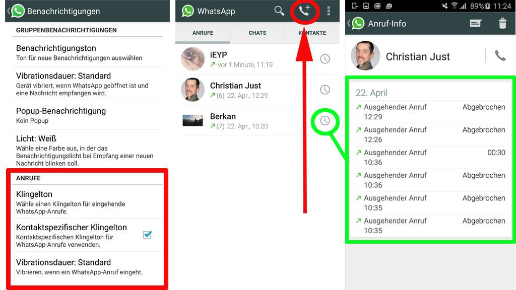 whatsapp anruf annehmen geht nicht