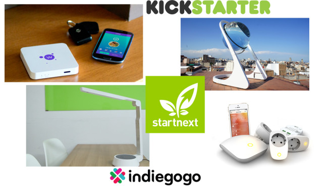 Crowdfunding-Projekte für Smart Homes©kickstarter, indiegogo, startnext