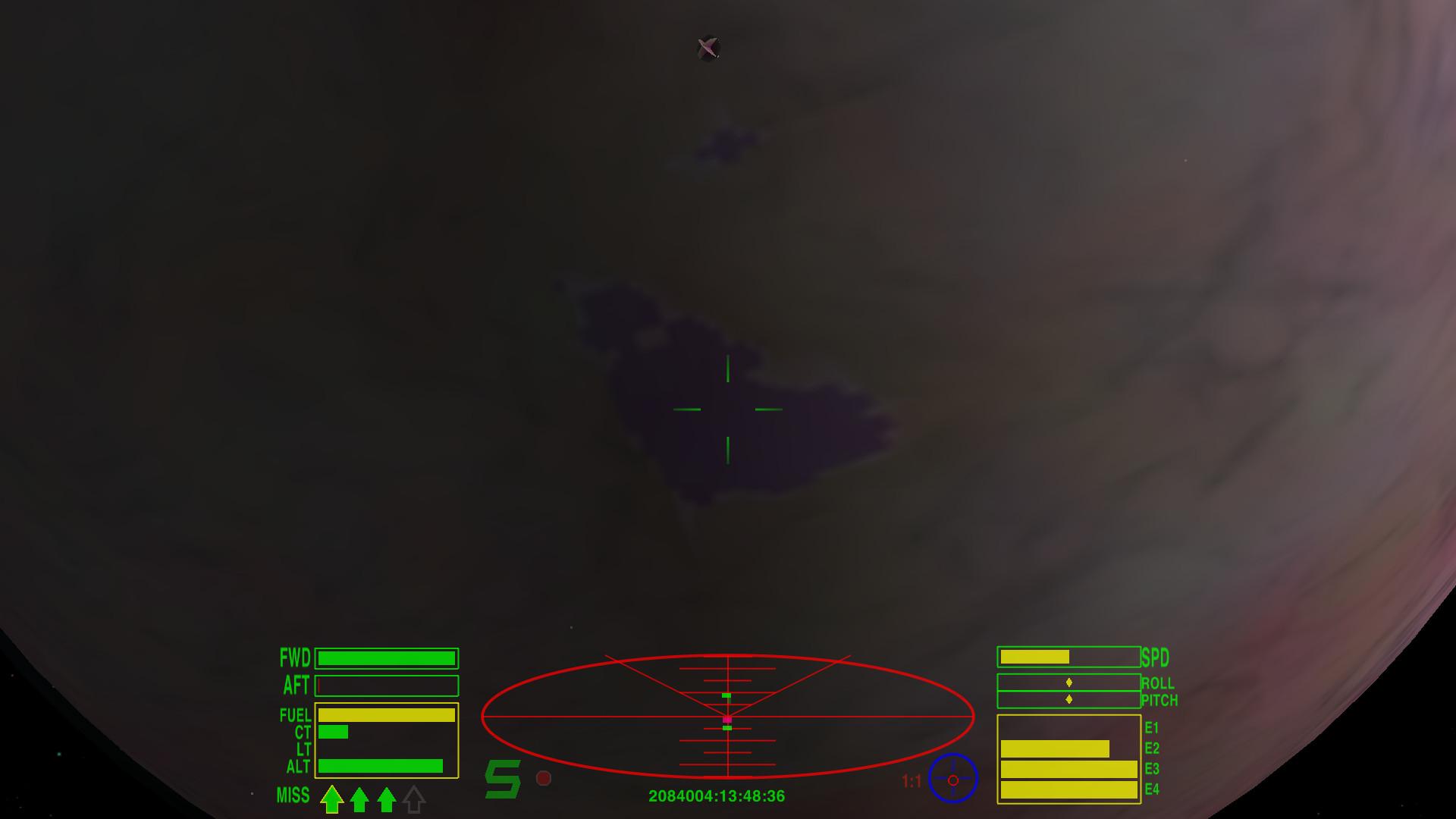 Screenshot 1 - Oolite (Mac)