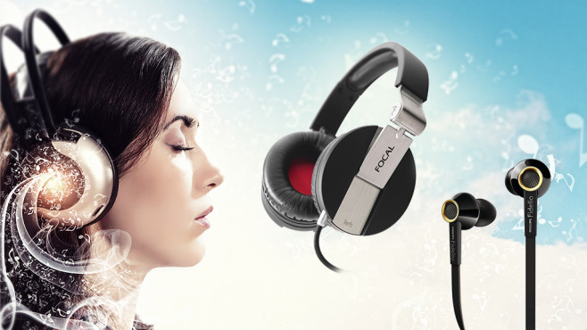 Gute Kopfhörer machen Musik zum Erlebnis©Sergey Nivens - Fotolia.com, Focal, Philips