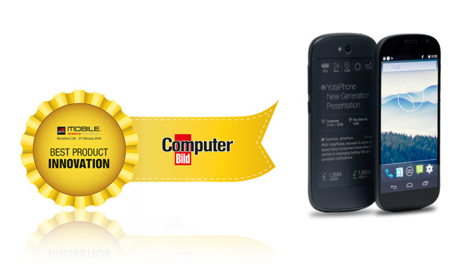 Best Product Innovation: Yotaphone 2 © COMPUTER BILD