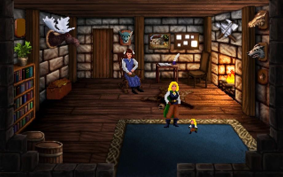 Screenshot 1 - Heroine's Quest: The Herald of Ragnarok
