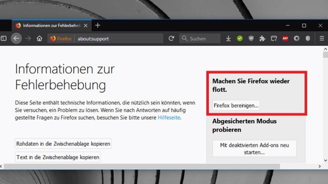 Firefox neu installieren ©COMPUTER BILD