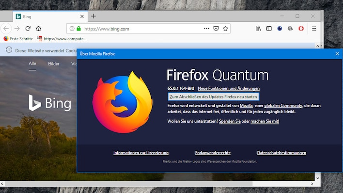 Firefox regelmäßig updaten