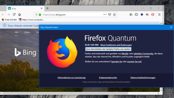 Firefox regelmäßig updaten ©COMPUTER BILD