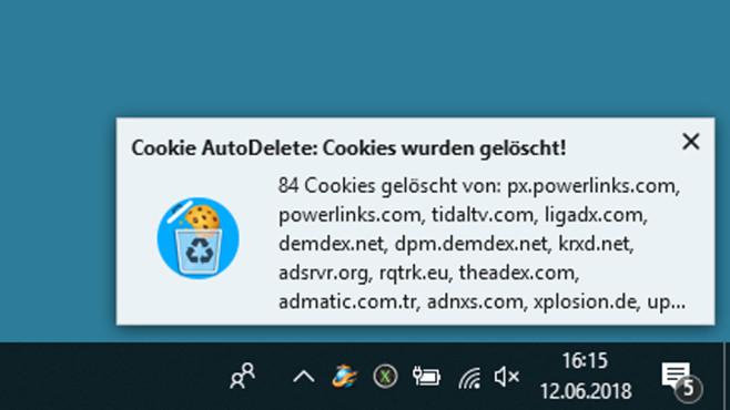 Cookie AutoDelete: Webseitendaten automatisch löschen ©COMPUTER BILD