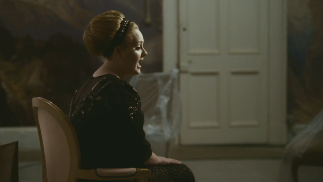 "Ausschnitt aus dem Musikvideo ""Rolling In The Deep"" von Adele ©XL Recordings Ltd."