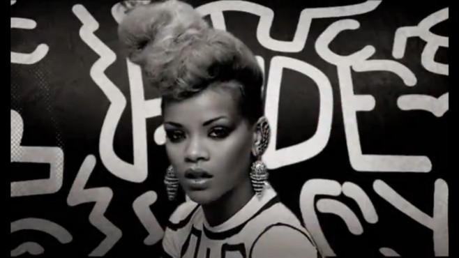 "Ausschnitt aus dem Musikvideo ""Rude Boy"" von Rihanna ©The Island Def Jam Music Group"