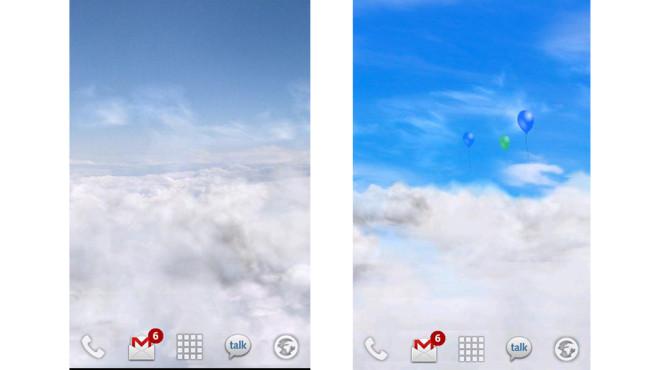 Blauer Himmel ©Kittehface Software