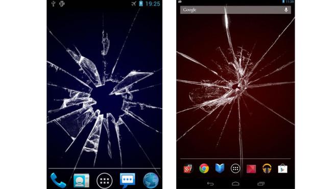 Android interaktiver hintergrund