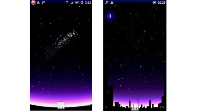 Shooting Stars ©kurousa