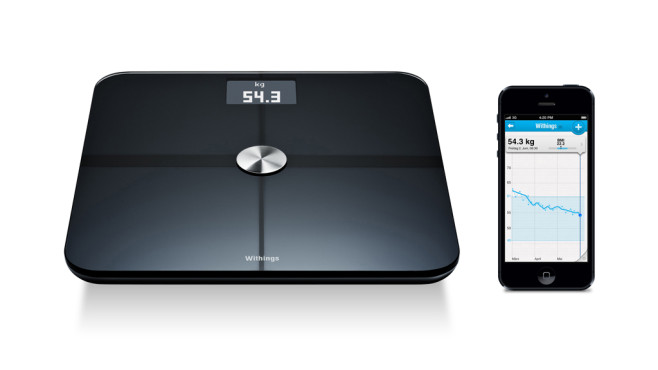 Withings Smart Body Analyzer Waage ©Withings
