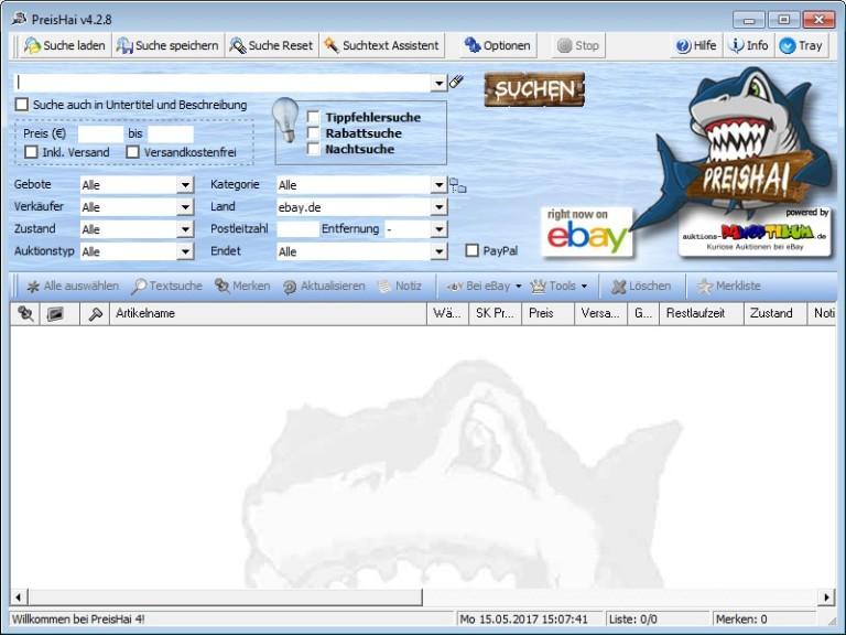 Screenshot 1 - PreisHai