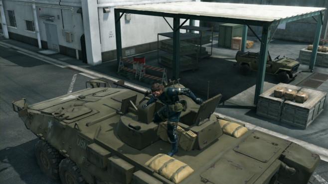 Metal Gear Solid 5: Ground Zeroes©Konami