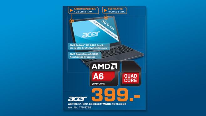 Acer Aspire E1-522-65204G1TMnkk (NX.M81EG.021) ©Saturn