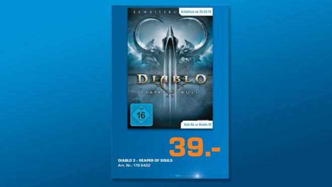 Diablo 3 – Reaper of Souls ©Saturn