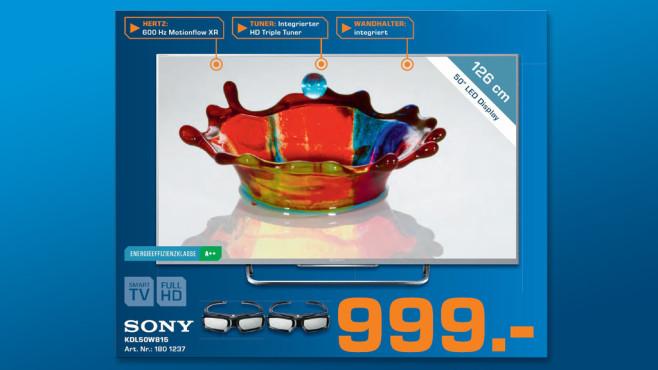 Sony KDL-50W815B ©Saturn