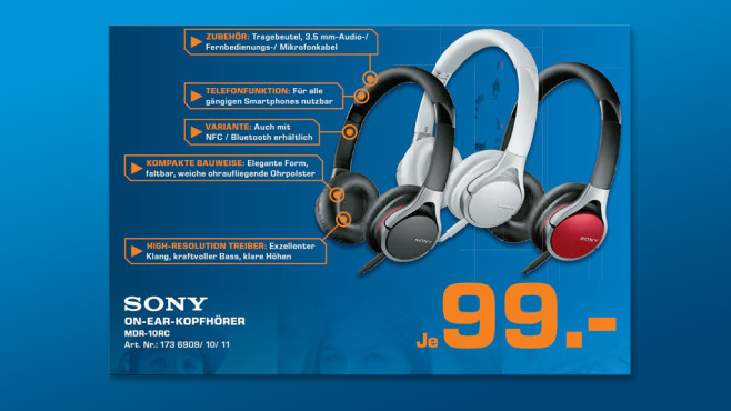 Sony MDR-10RC ©Saturn