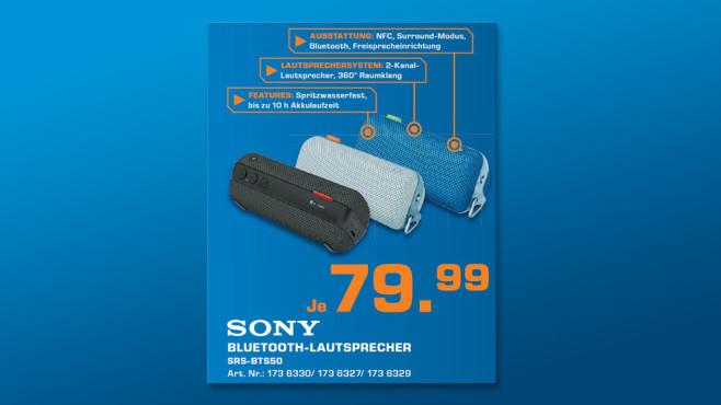 Sony SRS-BTS50 ©Saturn