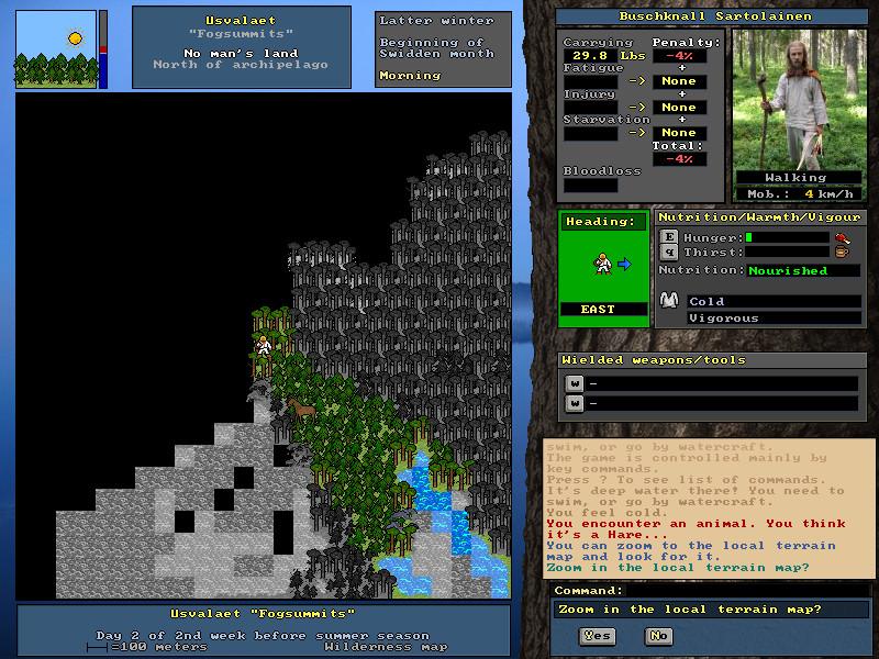 Screenshot 1 - UnReal World