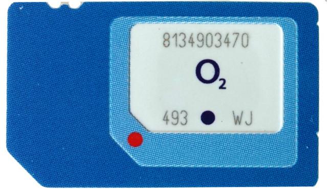 Neue Sim Karte.O2 Neue 3 In 1 Sim Karte Passt In Jedes Smartphone