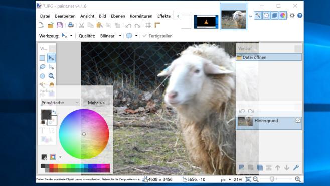 Paint.NET©COMPUTER BILD