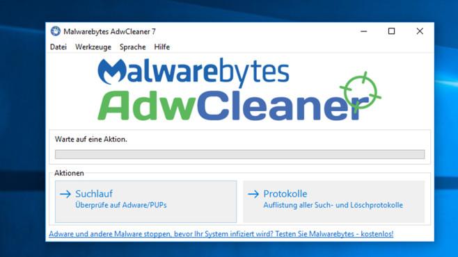 AdwCleaner: Adware und Toolbars löschen ©COMPUTER BILD