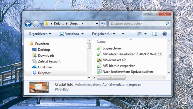 Dropbox: Dateien synchron halten ©COMPUTER BILD